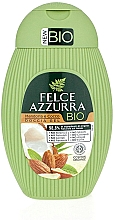 """Parfumuri și produse cosmetice Gel de duș """"Migdale și Nucă de cocos"""" - Felce Azzurra BIO Almond&Coconut Shower Gel"""