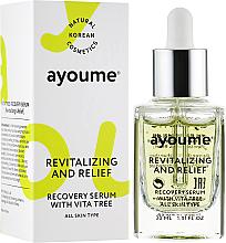 Parfumuri și produse cosmetice Ser cu vitamine pentru față - Ayoume Vita Tree Recovery Serum