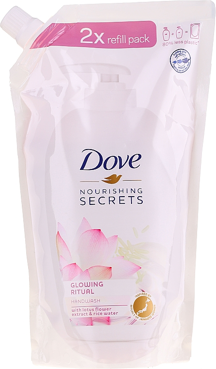 """Săpun lichid """"Floare de lotus"""" - Dove Nourishing Secrets Glowing Ritual Hand Wash (doypack)"""