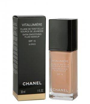 Тональная крем-эмульсия - Chanel Vitalumiere Fluide SPF15 — фото N1