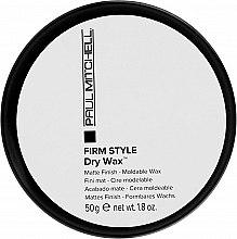 Parfumuri și produse cosmetice Ceară - Paul Mitchell Firm Style Dry Wax