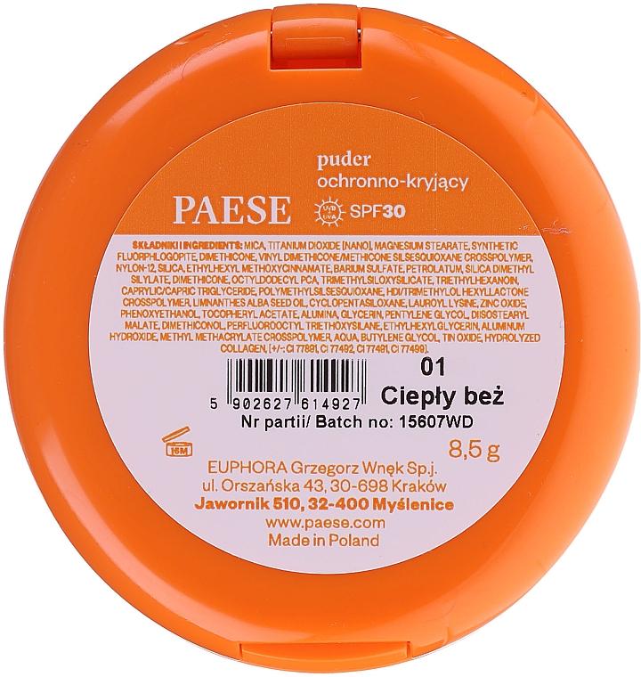 Компактная пудра для лица - Paese Powder SPF30 — фото N2
