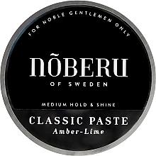 Parfumuri și produse cosmetice Pastă de păr - Noberu of Sweden Classic Paste Amber Lime