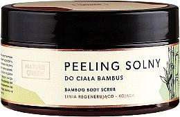 "Parfumuri și produse cosmetice Scrub de corp pe bază de sare ""Bambus"" - Nature Queen Body Scrub"