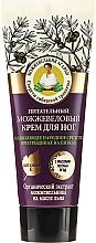 Parfumuri și produse cosmetice Cremă nutritivă de picioare cu ienupăr - Reţete bunicii Agafia Juniper Nourishing Foot Cream