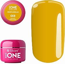 Parfumuri și produse cosmetice Gel aromatizat de unghii - Silcare Base One Perfumelle UV Gel Color