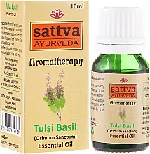 Parfumuri și produse cosmetice Ulei esențial - Sattva Ayurveda Tulsi Basil Essential Oil