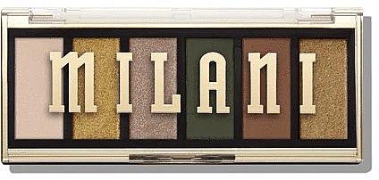 Paletă farduri de ochi - Milani Most Wanted Palettes
