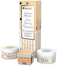 Parfumuri și produse cosmetice Set - Nacomi Orange Sorbet (b/scr/125g + f/lip/scr/80g + b/oil/100g)