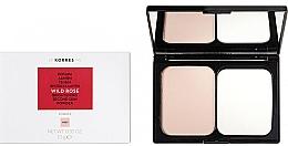 Parfumuri și produse cosmetice Pudră iluminantă pentru față - Korres Wild Rose Brightening Second Skin Powder