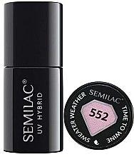 Parfumuri și produse cosmetice Lac de unghii - Semilac UV Hybrid Sweater Weather