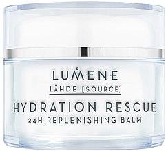 Parfumuri și produse cosmetice Balsam regenerator pentru față - Lumene Lahde Hydration Rescue 24H Nourishing Balm