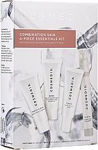 Parfumuri și produse cosmetice Set - Cosmedix Combination Skin 4-Piece Essentials Kit (f/cleanser/15ml + f/ser/15ml + f/ser/15ml + f/mist/15ml)