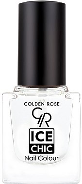 Lac de unghii - Golden Rose Ice Chic Nail Colour