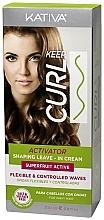 Parfumuri și produse cosmetice Activator pentru păr - Kativa Keep Curl Superfruit Active