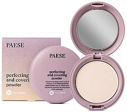 Parfumuri și produse cosmetice Pudră de față - Paese Perfecting & Covering Nanorevit Powder