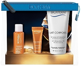Parfumuri și produse cosmetice Set - Biotherm Biosource (oil/30ml +cr/10ml + b/milk/100ml)