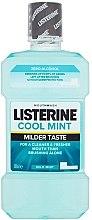 Parfumuri și produse cosmetice Agent de clătire pentru cavitatea bucală - Listerine Cool Mint Mild Taste
