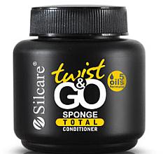 Parfumuri și produse cosmetice Ulei nutritiv pentru unghii si cuticule - Silcare Twist & Go Sponge Total Conditioner