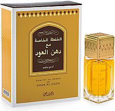 Parfumuri și produse cosmetice Rasasi Khaltat Al Khasa Ma Dhan Al Oudh - Apă de parfum