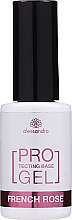 Parfumuri și produse cosmetice Bază de întărire pentru unghii - Alessandro International Protectig Base Gel French Rose