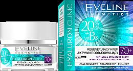 Parfumuri și produse cosmetice Cremă regenerantă de față - Eveline Cosmetics Hyaluron Clinic 70+