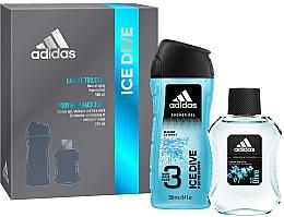 Parfumuri și produse cosmetice Adidas Ice Dive - Set (edt/100ml + sh/gel/250ml)