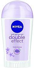 """Parfumuri și produse cosmetice Deodorant-Stick antiperspirant """"Efect dublu"""" - Nivea Double Effect Deodorant Stick"""