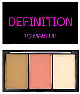 Parfumuri și produse cosmetice Paleta contur față - I Heart Revolution I Heart Definition