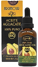 Parfumuri și produse cosmetice Ulei de avocado pentru față, corp și păr - Arganour Pure Organic Avocado Oil