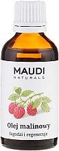 Parfumuri și produse cosmetice Ulei cu extract de zmeură - Maudi