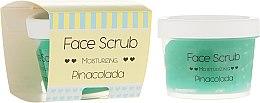 Parfumuri și produse cosmetice Scrub hidratant pentru față și buze - Nacomi Moisturizing Face&Lip Scrub Pinacolada