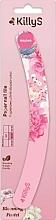 Parfumuri și produse cosmetice Pilă de unghii, carton, roz - KillyS Blooming Pastel Paper Nail File