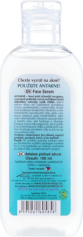 Ser pentru față - Bione Cosmetics Antakne Tea Tree and Azelaic Acid Facial Serum — Imagine N2