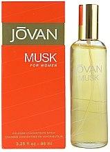Parfumuri și produse cosmetice Musk Jovan - Apă de colonie