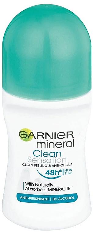 Antiperspirant roll-on - Garnier Mineral Clean Sensation Roll On