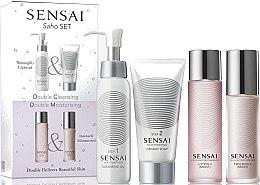 Parfumuri și produse cosmetice Set - Kanebo Sensai (oil/75ml + cr/soap/75ml + lot/60ml + emulsion/50ml)