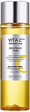 Parfumuri și produse cosmetice Toner cu vitamina C pentru față - Missha Vita C Plus Brightening Toner