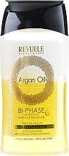 Parfumuri și produse cosmetice Loțiune demachiantă în două faze - Revuele Argan Oil Bi-Phase Waterproof Make-up Remover
