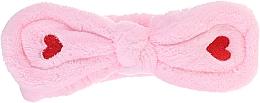 Parfumuri și produse cosmetice Bentiță cosmetică pentru păr, roz - Lash Brow Cosmetic SPA Band