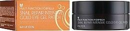 Parfumuri și produse cosmetice Patch-uri regenerante pentru ochi - Mizon Snail Repair Intensive Gold Eye Gel Patch