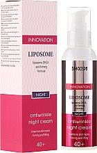 Parfumuri și produse cosmetice Crema de noapte anti-îmbătrânire cu formulă de întărire - BingoSpa Liposome Antiwrinkle Night Cream 40+