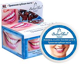 Parfumuri și produse cosmetice Pastă de dinți cu extract de garoafe - Sabai Thai Herbal Clove Toothpaste