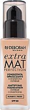 Parfumuri și produse cosmetice Tonic bază cu efect matifiant pentru față - Deborah Extra Mat Perfection SPF20