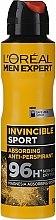 Духи, Парфюмерия, косметика Deodorant-antiperspirant pentru bărbați - L'Oreal Men Expert Invincible Sport Deodorant 96H