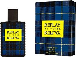 Parfumuri și produse cosmetice Replay Signature Re-verse For Men - Apă de toaletă