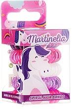 Parfumuri și produse cosmetice Set elastice de păr, 5 bucăți - Martinelia