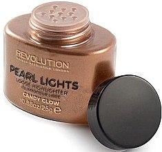 Parfumuri și produse cosmetice Iluminator cu pulbere - Makeup Revolution Pearl Lights Loose Highlighter