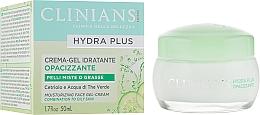 Parfumuri și produse cosmetice Cremă-gel de față - Clinians Hydra Plus Moisturizing Face Gel-Cream