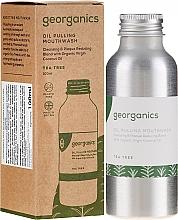 Parfumuri și produse cosmetice Agent de clătire pentru cavitatea bucală - Georganics Tea Tree Mouthwash